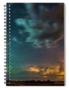 Epic Nebraska Lightning 008 Spiral Notebook