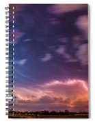 Epic Nebraska Lightning 009 Spiral Notebook