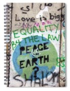 Equality Before The Law Spiral Notebook