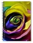 Equality Rose Spiral Notebook