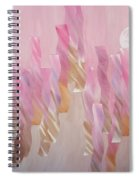 Equinox Full Moon Spiral Notebook
