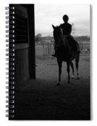 Equus Sapien I Spiral Notebook