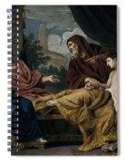Erasistratus, Ancient Greek Physician Spiral Notebook