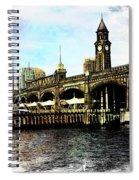 Erie Lakawanna Ferry And Train Station Spiral Notebook