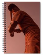 Ernie Banks Sculpture Spiral Notebook
