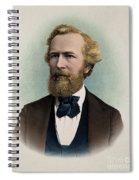Ernst Haeckel, Naturalist And Artist Spiral Notebook