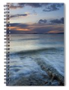 Eroded By The Tides Spiral Notebook