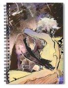 Eroscape 09 2 Spiral Notebook