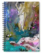 Eroscape 1104 Spiral Notebook