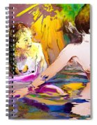 Eroscape 15 2 Spiral Notebook