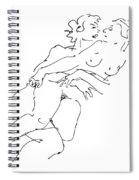 Erotic Art Drawings 13 Spiral Notebook