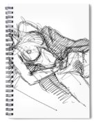 Erotic Art Drawings 7 Spiral Notebook
