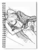 Erotic Art Drawings 7 Spiral Notebook
