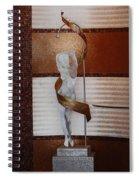 Erotic Museum Piece Spiral Notebook