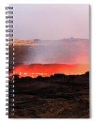 Erta Ale Volcano Spiral Notebook
