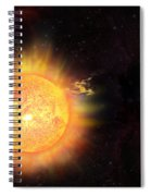 Eruption - Solar Storm Spiral Notebook
