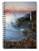 Eruption At Dawn Spiral Notebook