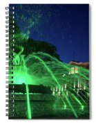 Eruption Of Green Waters, Sofia Spiral Notebook