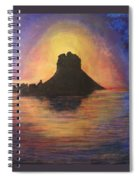 Es Vedra Sunset I Spiral Notebook
