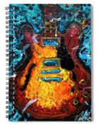 Es335 To Infinity Spiral Notebook
