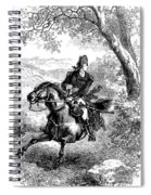 Escape Of Benedict Arnold Spiral Notebook