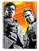 Escape Plan 2013  Spiral Notebook
