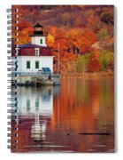 Esopus Lighthouse In Late Fall #2 Spiral Notebook