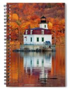 Esopus Lighthouse In Late Fall #3 Spiral Notebook