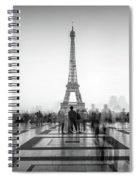 Esplanade Du Trocadero Spiral Notebook