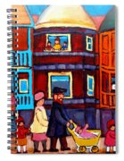 Esplanade Street Sabbath Walk Spiral Notebook