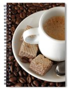 Espresso Coffee Spiral Notebook