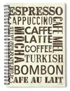 Espresso Spiral Notebook