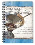 Espresso Martini Spiral Notebook