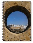 Essaouira In Morocco Spiral Notebook