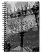 Essence Of Paris Spiral Notebook