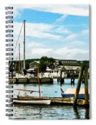 Essex Ct Marina Spiral Notebook
