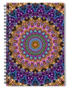 Estate Jewels Mandala No. 2 Spiral Notebook