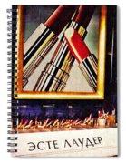 Estee Lauder Moscow Spiral Notebook