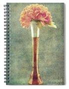 Estillo Vintage Textured Spiral Notebook