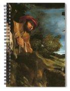 Et In Arcadia Ego Spiral Notebook