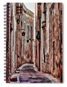 Etched In Stone Spiral Notebook