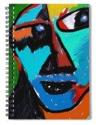 Etching 114 Spiral Notebook