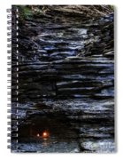 Eternal Flame Falls Spiral Notebook
