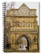 Ethelbert Gate Spiral Notebook