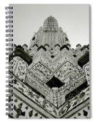 Ethereal Beauty Of Wat Arun Spiral Notebook
