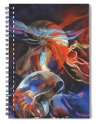 Ethereal Dance Spiral Notebook