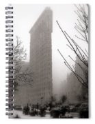 Ethereal Flat Iron Spiral Notebook