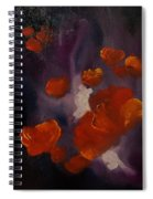 Ethereal Poppies                     81 Spiral Notebook