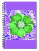 Ethereal Purple Poppy Too Spiral Notebook