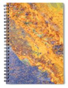 Ethereal Rust Spiral Notebook